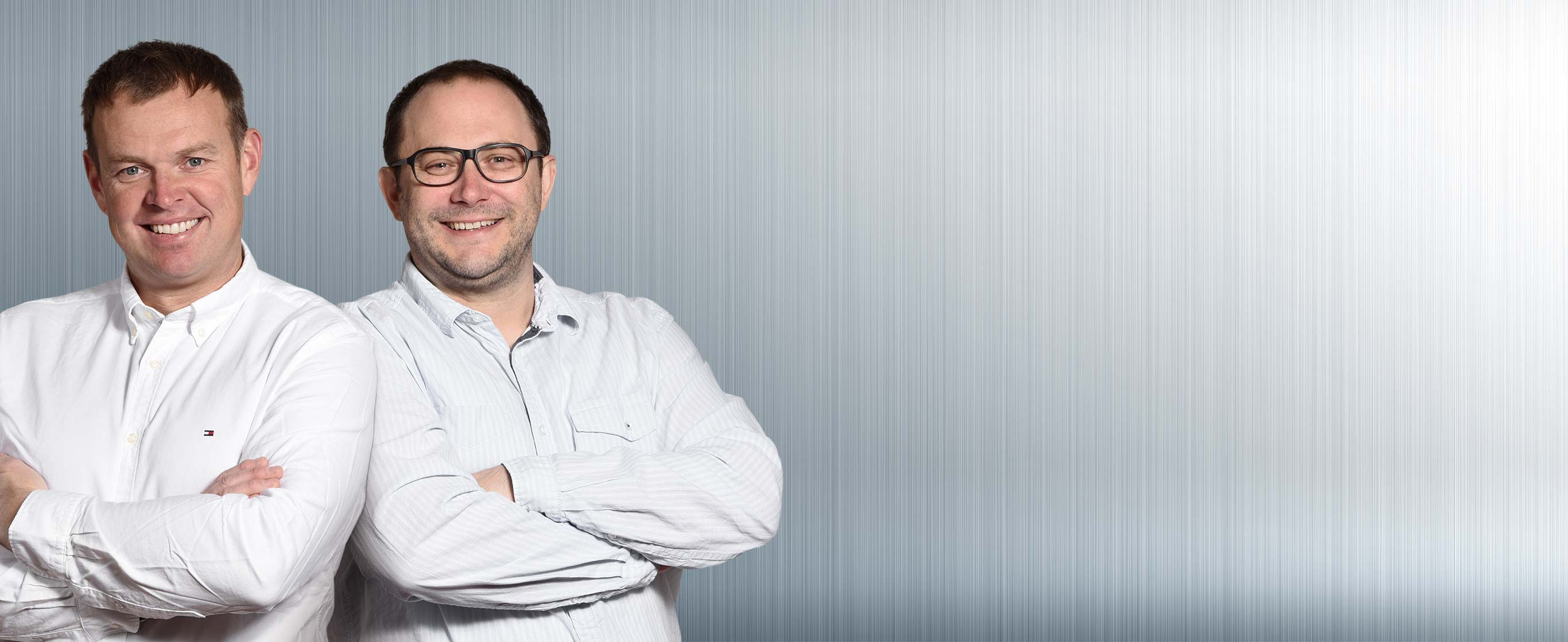 Rettinger Kempten - MEISTER DER ELEMENTE: Markus Rettinger, Geschäftsführer und Badgestalter | Stephan Ernst, Meister